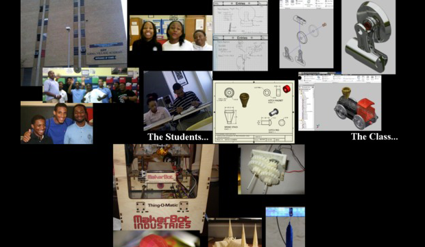 MakerBot – 3D Printing in a Baltimore HS Engineering Class