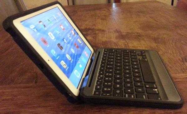 Rugged Folio for the iPad mini side view