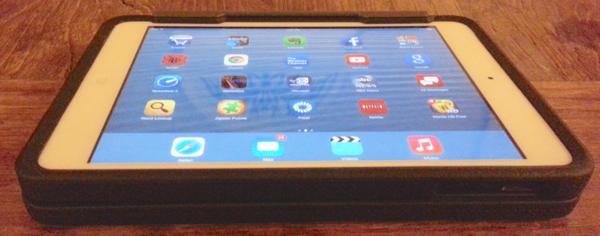 Rugged Folio for the  iPad mini tablet mode