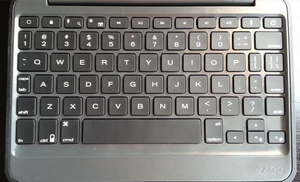 Rugged Folio for the  iPad mini keyboard
