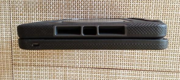 Rugged Folio for the  iPad mini speaker vents