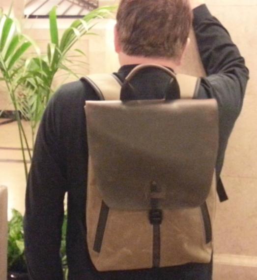 Staad Slim Backpack