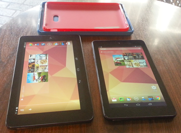 Dell Venue 8 and Venue 7 and Duo Cases (in back)