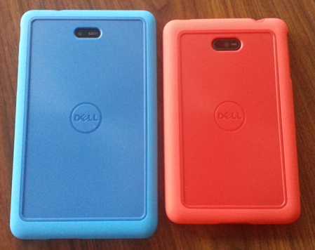 Duo Cases for the Dell Venue 8 and Venue 7, back view