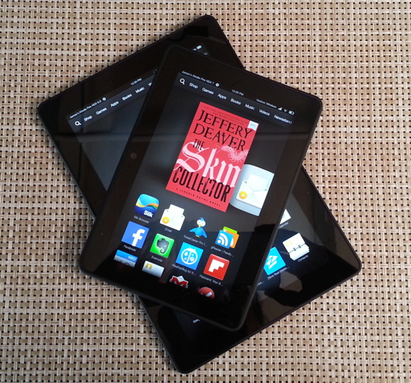 Tale of two Kindles