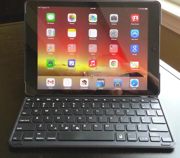 KeyFolio Thin X3 case for iPad Air