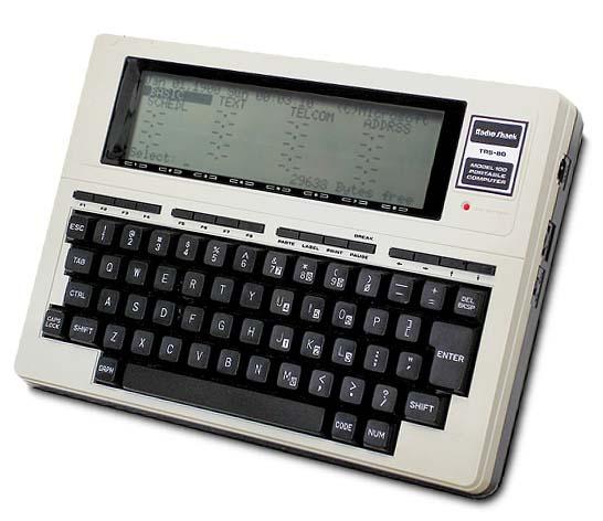 Tandy TRS-80 Model 100