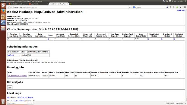 Benchmarking Hadoop