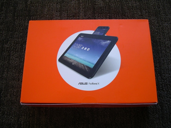 PadFone X retail package