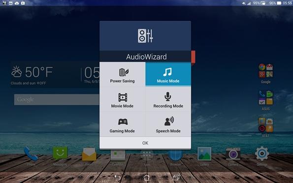 PadFone X Station AudioWizard