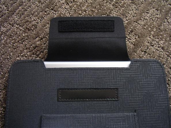 Securing the iPad Mini in the QuickFlip