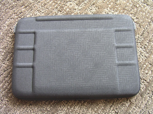 Top hard shell of the QuickFlip
