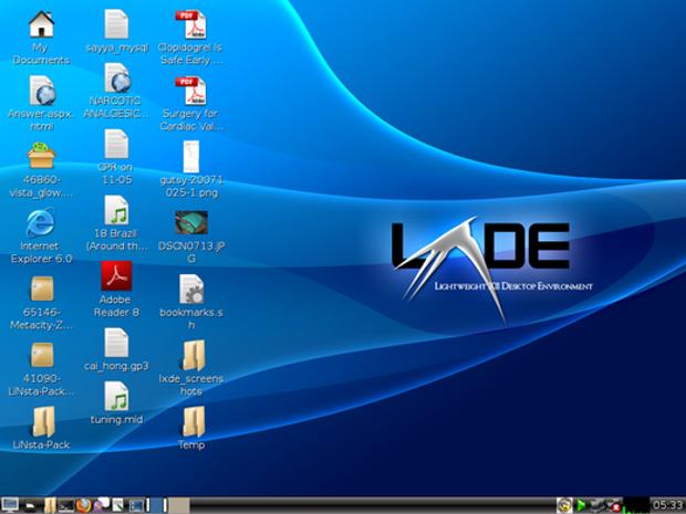 LXDE 0.6.2