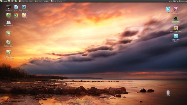 Customized Linux Mint 17