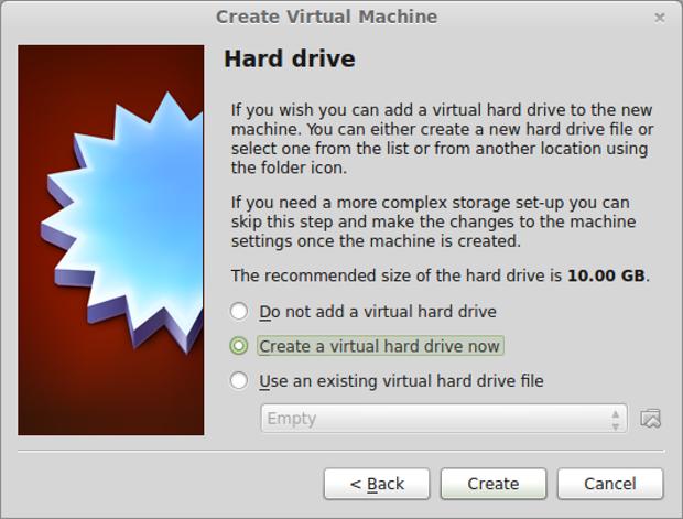 Picking out a virtual drive