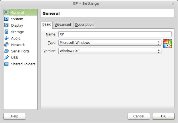 XP virtual machine tuning