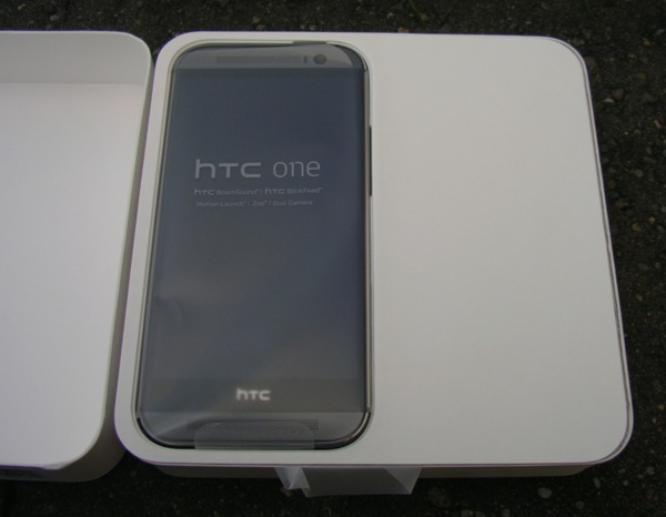 Here's the HTC M8