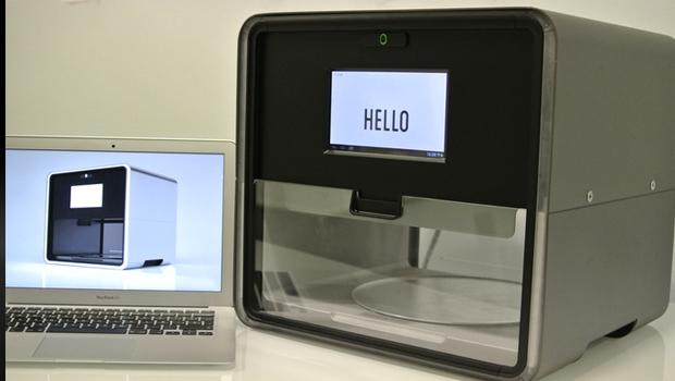 A food 3D printer