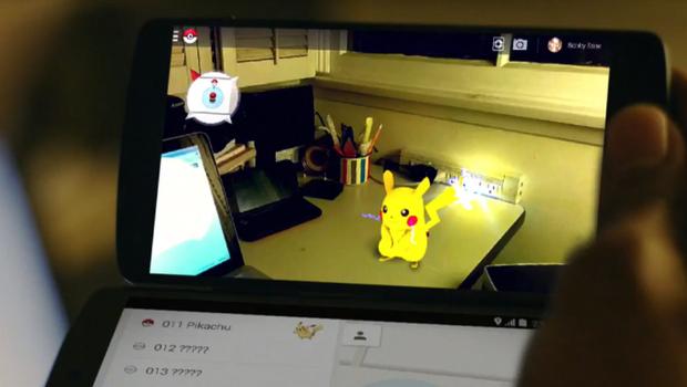 Google's pokemon hunt