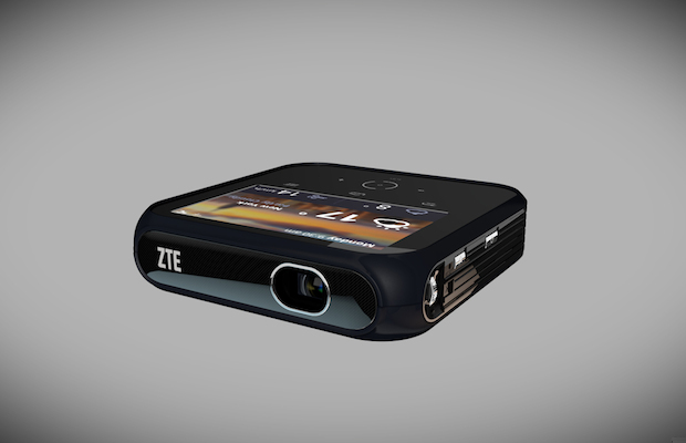 ZTE's Hotspot Projector that for some reason does both. Why? Because.