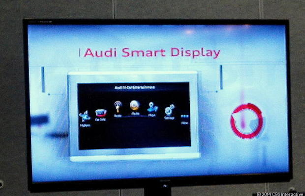 Audi puts an Android tablet in a car. Enough distractions already!