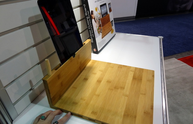 The chopping board designed to hold your... shiny chopping board?