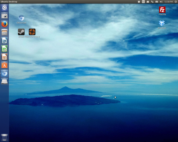 And, in a few minutes Ubuntu is much more attractive and useful.