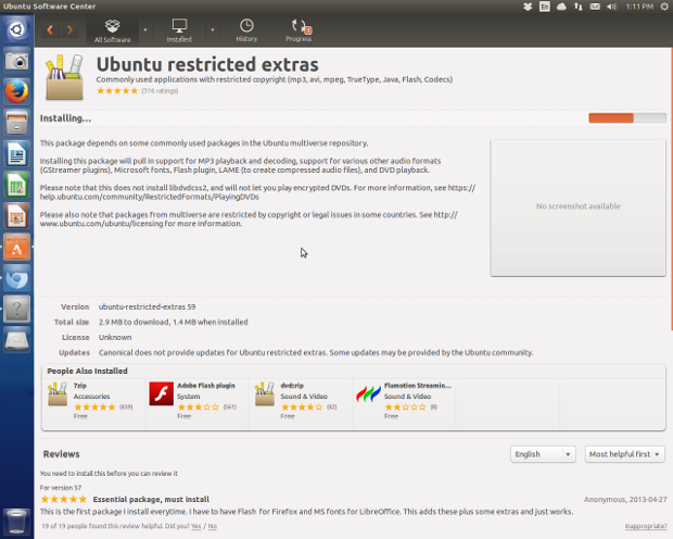 The Ubuntu app store gives you all the info you need to make a wise software decision.