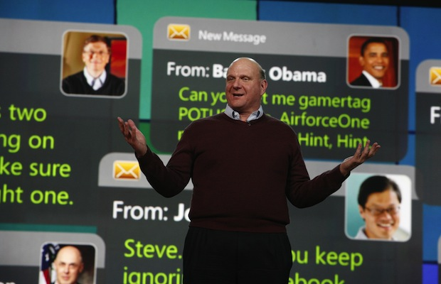 Who will replace Steve Ballmer when he leaves Microsoft?