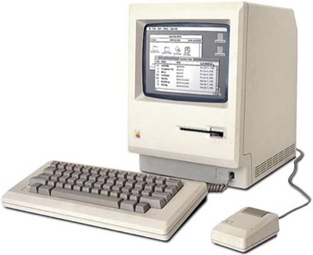 The first Mac: 1984