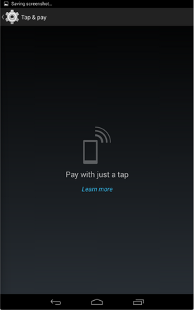 NFC payments built-in to KitKat?