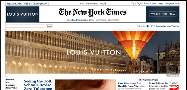 Media Outlets: The New York Times, The Wall Street Journal