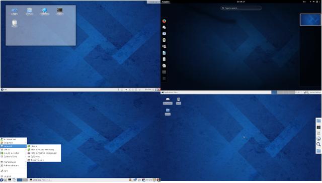 Fedora 20 (Heisenbug) Gnome-KDE-Xfce-LXDE