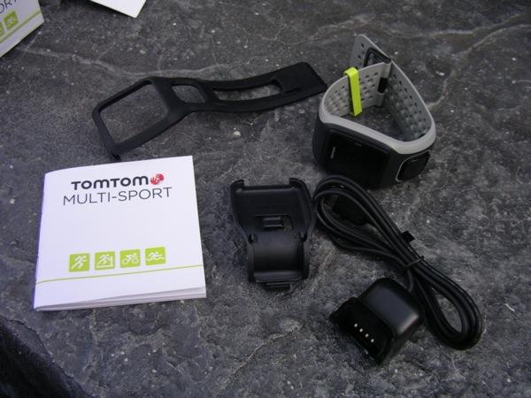 TomTom Multi-Sport box contents