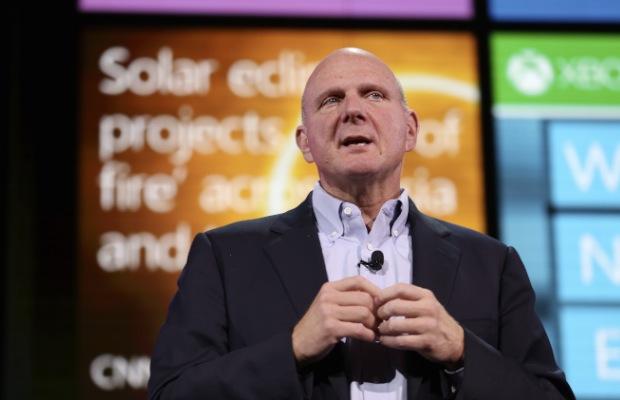 Ballmer bids farewell to Microsoft troops