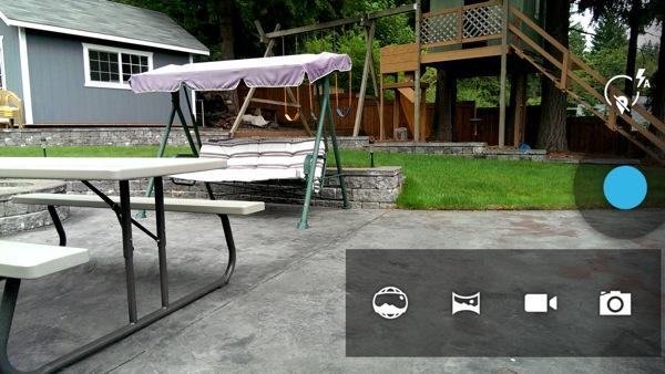 Camera utility on Google Edition One