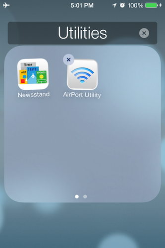 Hide the Newsstand