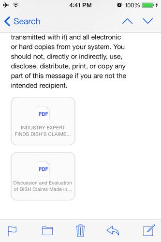 Native PDF support