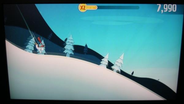 Playing Ski Safari