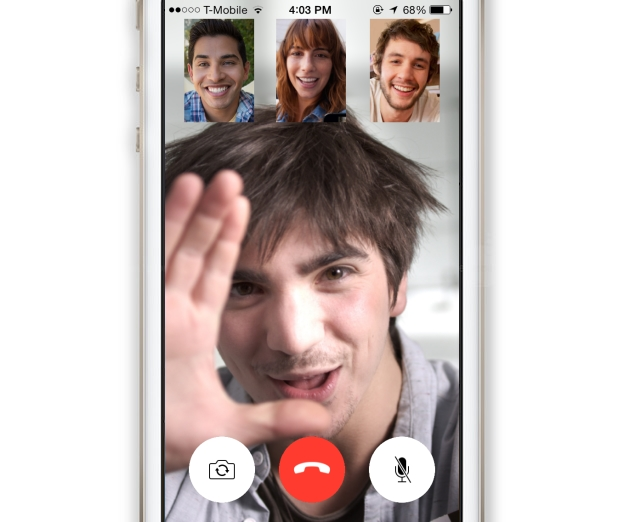 Group video calling over FaceTime