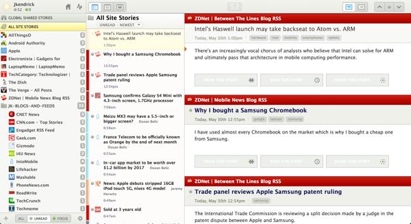Newsblur -- RSS news reader and Google Reader replacement