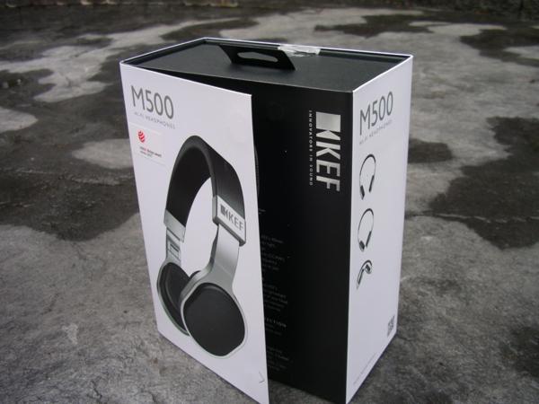 KEF M500 retail package