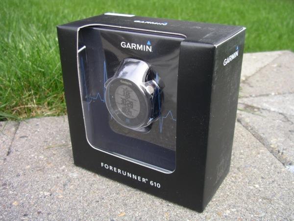Garmin Forerunner 610 retail box