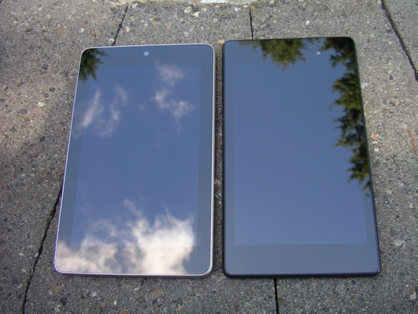 Old and new Nexus 7 devices