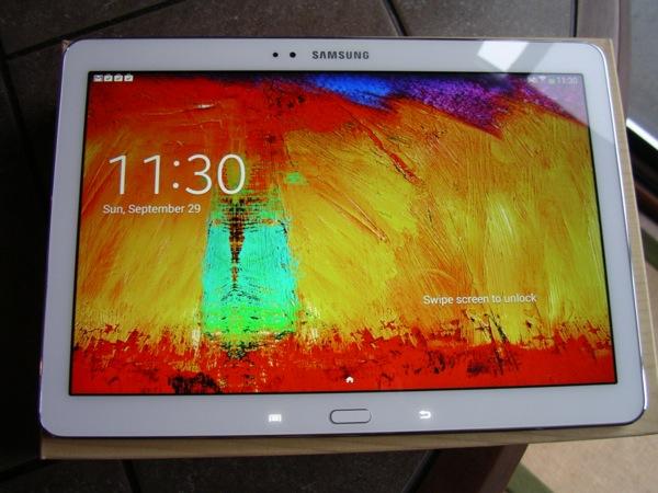 Brilliant 2560 x 1600 10.1 inch display