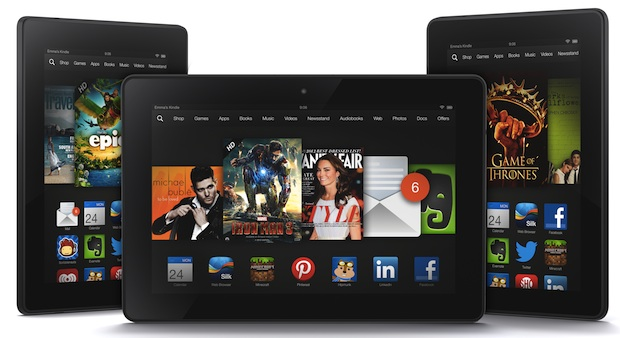 Amazon refreshes tablet line-up, introduces Kindle Fire HDX range
