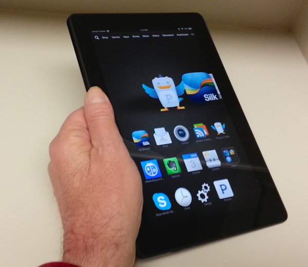 Kindle Fire HDX first impressions