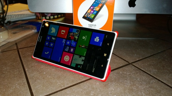 Windows Phone doesn't support landscape orientation in many places