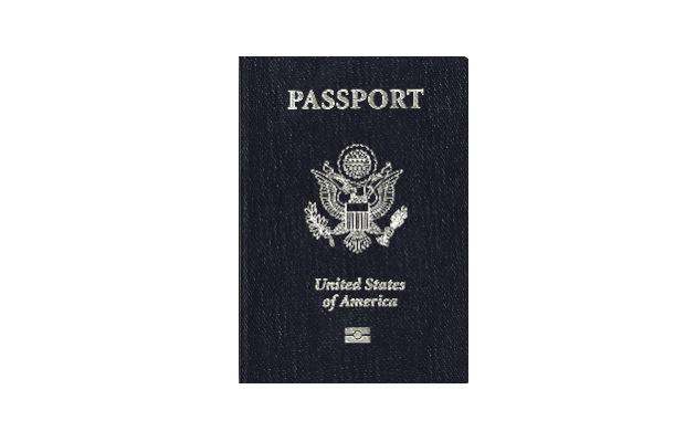 Last thing: Passport