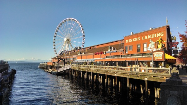 Waterfront view shot with Moto X